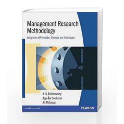 Management Research Methodology, 1e by KRISHNASWAMY Book-9788177585636