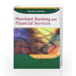 Merchant Banking and Financial Services by Dr. S. Gurusamy Book-9788182093669