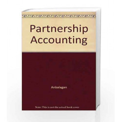 Partnership Accounting by Anbalagan Book-9788183713504
