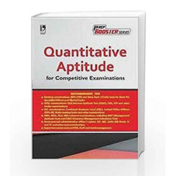 Quantitative Aptitude for Competitive Examinations by N/a Book-9789325976078