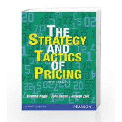 Strategy and Tactics of Pricing (Old Edition) by Thomas T. Nagle Book-9789332510364