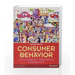 Consumer Behavior (Old Edition) by Leon G. Schiffman Book-9789332537644