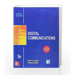 DIGITAL COMMUNICATION 5/ED. by Proakis Book-9789339204792