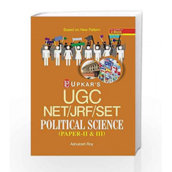 UGC NET/JRF/SET Political Science: Paper II & III by Ashutosh Roy Book-9789350133408