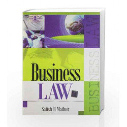 Business Law by Satish Mathur Book-9789351340072