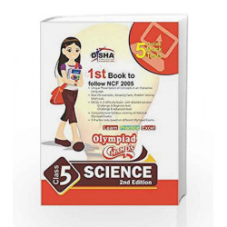 Olympiad Champs Science Class 5 with 5 Mock Online Olympiad Tests by Disha Experts Book-9789384905637