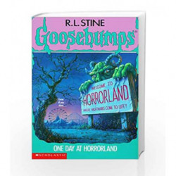 One Day at Horrorland (Goosebumps - 16) by R.L. Stine Book-9780590477383