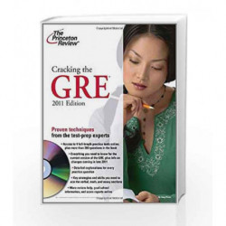 Cracking the GRE with DVD, 2011 Edition (Graduate School Test Preparation) book -9780375429781 front cover