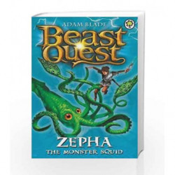 Zepha the Monster Squid: Series 2 Book 1 (Beast Quest) book -9781846169885 front cover