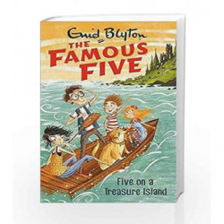 Five on a Treasure Island: 1 (The Famous Five Series) book -9780340894545 front cover