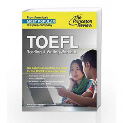 TOEFL Reading & Writing Workout (College Test Preparation) book -9780804125949 front cover