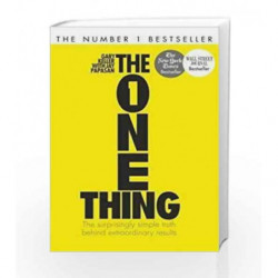 The One Thing book -9781444798845 front cover