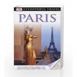 DK Eyewitness Travel Guide: Paris book -9781405347051 front cover