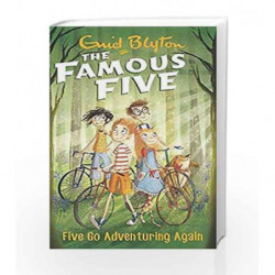 Five Go Adventuring Again: 2 (The Famous Five Series) book -9780340894552 front cover