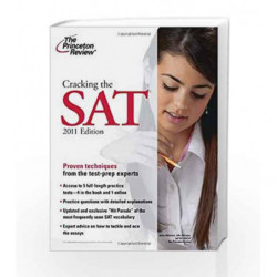 Cracking the SAT, 2011 Edition (College Test Preparation) book -9780375429828 front cover