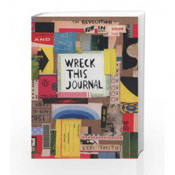 Wreck This Journal: Now in Colour book -9781846149504 front cover