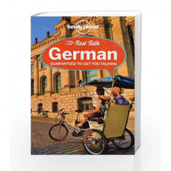 Fast Talk German (Phrasebook) book -9781741791310 front cover