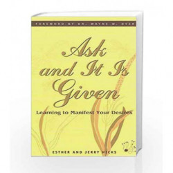 Ask And It Is Given book -9788190416948 front cover