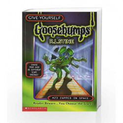 Zapped in Space (Give Yourself Goosebumps - 23) book -9780590397742 front cover