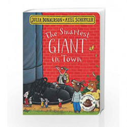The Smartest Giant in Town book -9781509830374 front cover