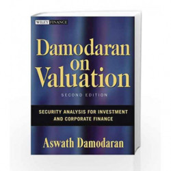 Damodaran on Valuation: Security Analysis for Investment and Corporate Finance (Wiley Finance) book -9780471751212 front cover