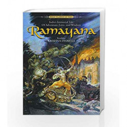 Ramayana: India's Immortal Tale of Adventure, Love and Wisdom - World's Best-selling Edition book -9781887089227 front cover