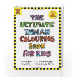 The Ultimate Indian Colouring Book for Kids: Add Colour - Discover India, 100 Hand-Drawn Original Artworks across 10 categories,