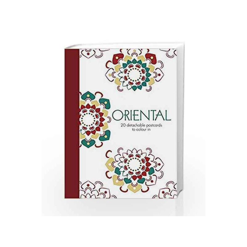 Oriental: 20 detachable postcards to colour in by NA-Buy Online Oriental:  20 detachable postcards to colour in Book at Best Prices in