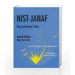 NIST-JANAF Thermochemical Tables (Journal of Physical and Chemical Reference Data Monographs) by Chase M.W. Book-9781563968310