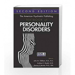 The American Psychiatric Publishing Textbook of Personality Disorders by Oldham Book-9781585624560