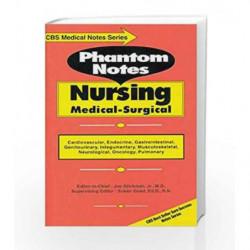 Phantom Notes: Nursing Medical-Surgical (CBS Medical Notes Series) by Glickman J Book-9788123910659