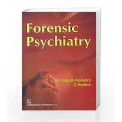Forensic Psychiatry (Pb 2015) by Subrahmanyam B.V. Book-9788123924182