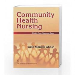 Community Health Nursing by Ghosh J.M Book-9788123929699