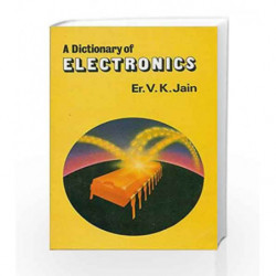 Dictionary of Electronics by Jain V. K Book-9788123903590