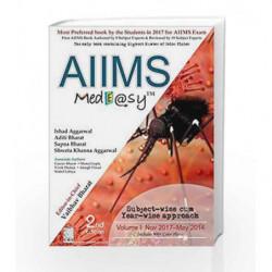 AIIMS Medeasy Volume I (Nov. 2017May 2014) by Arora D.R. Book-9789386827555