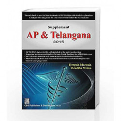 Supplement AP & Telangana 2015 by Marwah D. Book-9789385915017