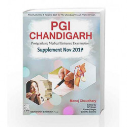 PGI Chandigarh Supplement Nov-2017 by Chaudhary M Book-