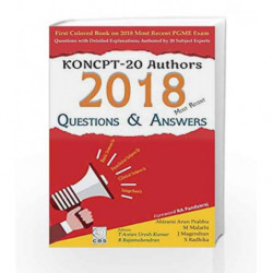 KONCPT-20 Authors 2018 most Recent Questions & Answers by Prabhu A A Book-9789386827463