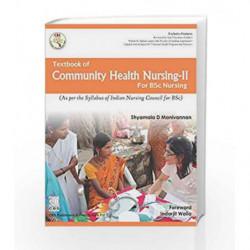 Textbook of Community Health NursingII for BSc Nursing by Manivannan S.D Book-9789386827227