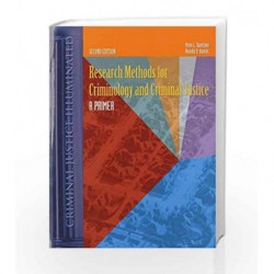 Research Methods for Criminology and Criminal Justice: A Primer (Criminal Justice Illuminated) by Dantzker Book-9780763736156