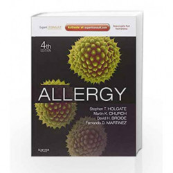 Allergy: Expert Consult Online and Print by Holgate S.T. Book-9780723436584