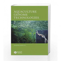 Aquaculture Genome Technologies by Liu Book-9780813802039