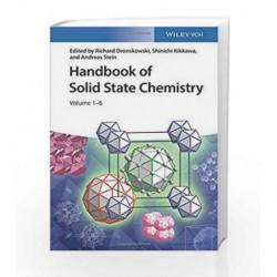Handbook of Solid State Chemistry: 6 Volume Set by Dronskowski Book-9783527325870