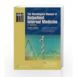 The Washington Manual of Outpatient Internal Medicine by Sateia H F Book-9789351295860