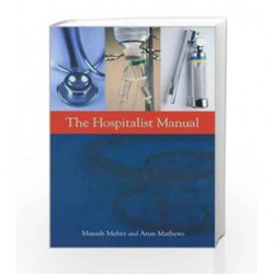 Hospitalist Manual / Edition 1 by Mehta M. Book-9781607950196