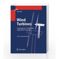 Wind Turbines: Fundamentals, Technologies, Application, Economics by Erich Book-9783642271502