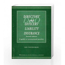 Directors and Officers Liability Insurance by Ian C Book-9781855734371