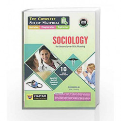 A Study Material Of Sociology by Krishna Book-9789385616433