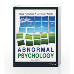Abnormal Psychology, 11ed by Kring A.M. Book-9788126531844
