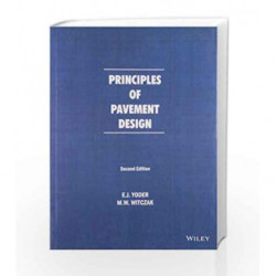 Principles of Pavement Design by Yoder E.J. Book-9788126530724